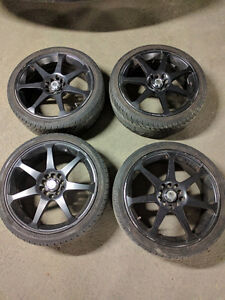 MZR Rims and Tires