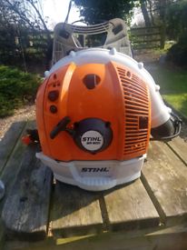 Stihl petrol leaf blower br600 backpack 2019 model