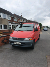 Red van for sale