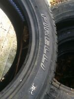 275 55 20 Pirelli winter tires.