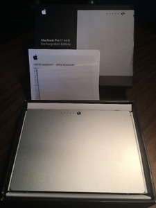 Rechargeable Battery Mac Book Pro 17