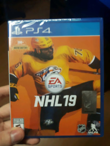 PS4 NHL 19 - Brand New in Wrapping