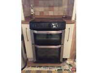 Belling freestanding cooker with double oven