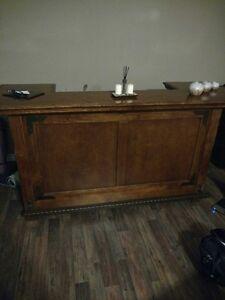 wooden bar - beautiful piece