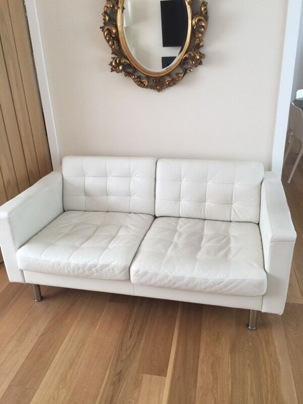 Ikea Landskrona 2 Seater Sofa White In Hove East Sussex