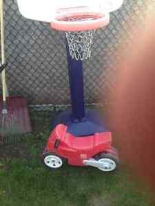Little tikes basketball net and step2 bike