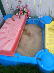 Free sand box ,first come first serve