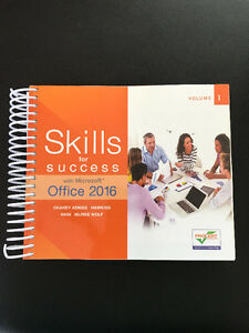 NEW Skills for Success with Microsoft Office 2016 Volume 1