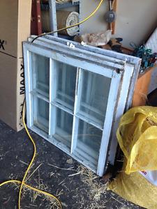 Old/Antique Wooden Window Frames for Decor