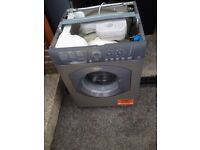 Hotpoint silver washer