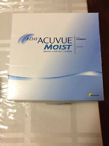 1-day acuvue moist daily contact lenses - $50