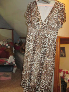Leopard dress size 12