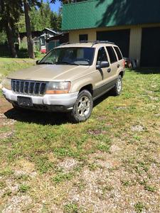 2001 Jeep Grand Cherokee Laredo, SUV, Crossover
