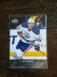 "15/16 Upper Deck YOUNG GUNS ROOKIE CARD ""CONNOR McDAVID"""