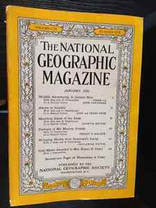 """Vintage """"The National Geographic Magazine"""" Collection"""