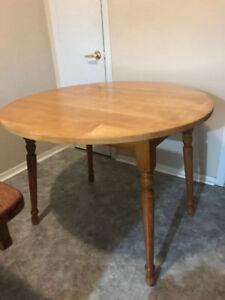 TABLE EN ERABLE 3 POSITION