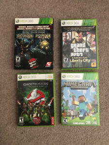 Various Priced XBOX 360 Games