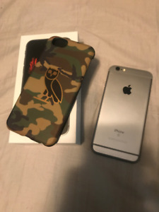 IPHONE 6S 64GB 9/10 Comes with box + OVO CASE