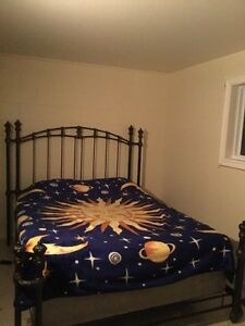 Queen Bed from the brick 1 year old