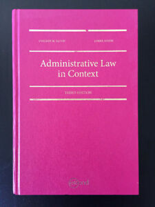 Administrative Law in Context, 3rd Edition