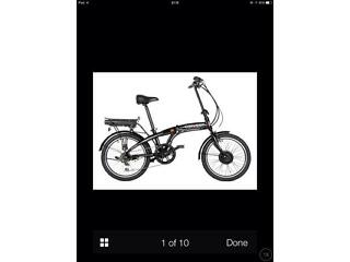 Halfords electric power assisted bike