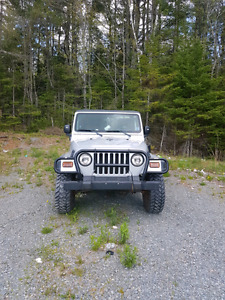 2004 Jeep TJ Sport 4.0L ONLY 48000 ORIGINAL KILOMETRES