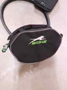 Arctic cat handle bar bag