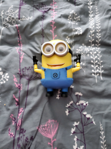 Despicable me minion animated toy