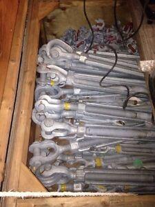 Turn buckles , 17 and 25 ton shackles nylon sling St. John's Newfoundland image 2