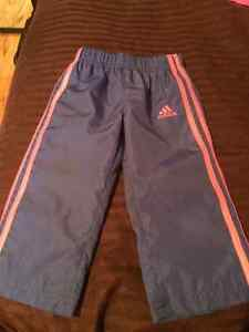 Brand New Toddlers Girls Size 2 Adidas Pants
