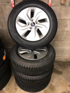 Firestone winter tires 205/65/R16 on Hyundai Sonata rims