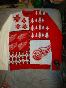 DETROIT RED WINGS UGLY CHRISTMAS SWEATER BRAND NEW