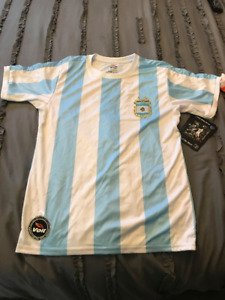 ARGENTINA VOLT OFFICIAL WORLD CUP YOUTH SOCCER JERSEY!
