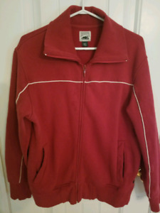 MEN'S ROOTS ZIP UP-SIZE SMALL