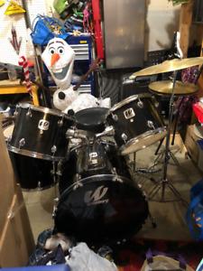 Westbury acoustic drum kit for sale