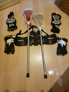 Must Go: Junior Lacrosse Set (make an offer)
