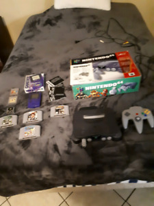 N64 complete and gameboy color complete