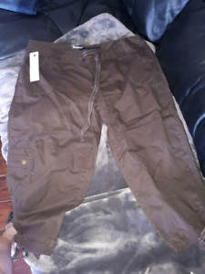 2 pairs NWT capris, shorts, skorts. $25 for whole lot!