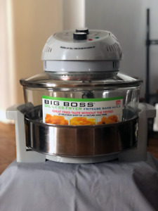 """""""As Seen On TV"""" Big Boss Oil-Less Fryer (Never Used)"""