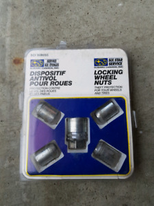 OEM Subaru wheel lock nuts