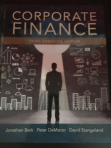 Corporate Finance Textbook 3rd Edition