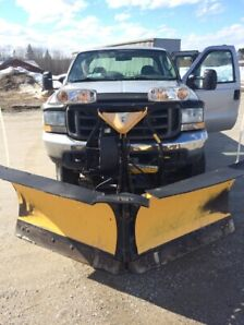 2004 Ford F-250 + PELLE À NEIGE FISHER MINUTE MOUNT 2