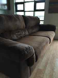 Brown sofa great condition