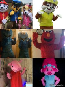 COSTUMES/MASCOTS FOR RENT! PAW PATROL, PEPPA PIG, PJ MASKS +