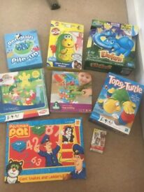 Kids games and puzzles some new see post for price