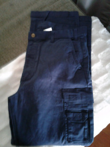 Brand New Mens Cargo Style Work Pants 38x32