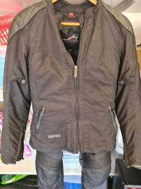 Motorbike Hein Gerick jacket and trousers