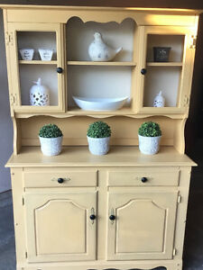 Beautiful Chalk Painted Hutch