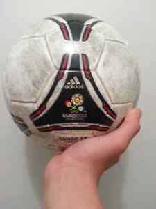 A wonderful soccer ball in very good condition