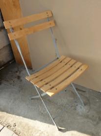 **£10** Wooden Slat Chair